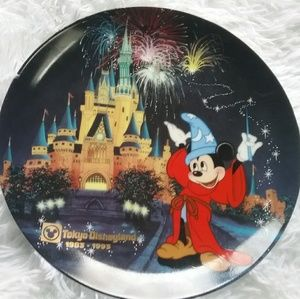 Tokyo Disney Numbered Collectable Plate